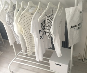 clothes, white, and fashion image