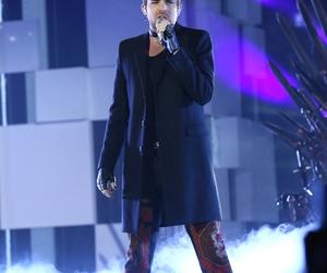 adam lambert, concert, and fashion image