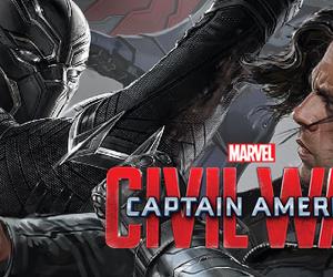 civil war, sebastian stan, and Marvel image
