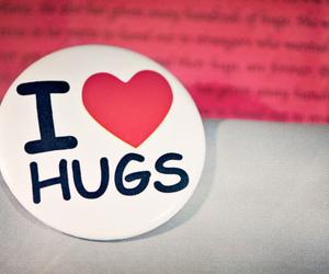 hug, love, and heart image
