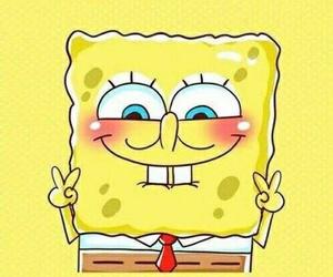 spongebob, wallpaper, and yellow image