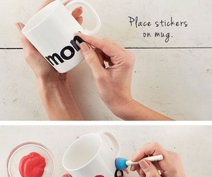 cup, diy, and ideas image