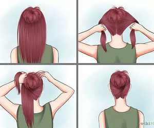 cabelo, hair, and coque image