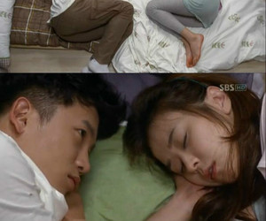 asian, Korean Drama, and sleep image