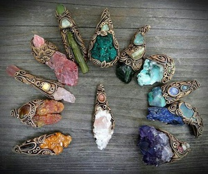 crystal, indie, and stone image