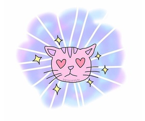 funny, gato, and heart image