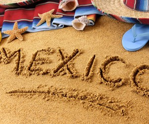 beach, mexico, and beautiful image