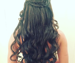 braid, curl, and curls image