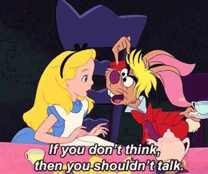 alice in wonderland, alice, and disney image