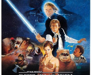 carrie fisher, darth vader, and han solo image
