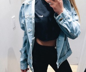 fashion, nike, and girl image