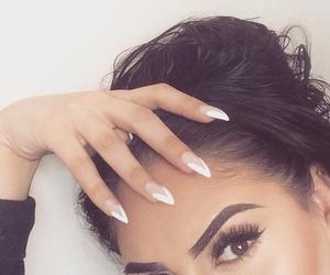 nails, makeup, and eyebrows image