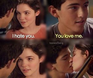 teen wolf, derek hale, and kiss image