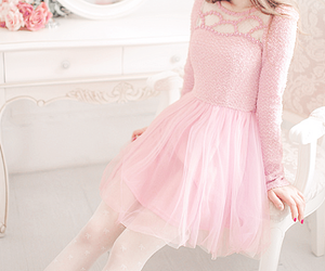 pink, fashion, and cute image