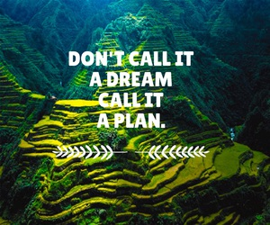 quote, plan, and Dream image
