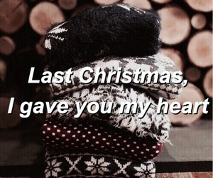 christmas, indie, and Lyrics image