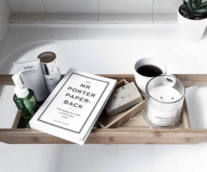 book, white, and tumblr image