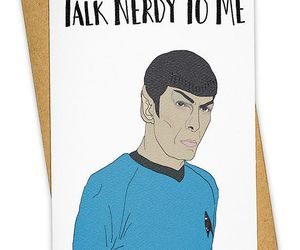 dirty, nerd, and spock image