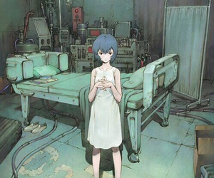 anime, evangelion, and rei ayanami image