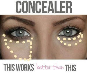 concealer, makeup, and make up image