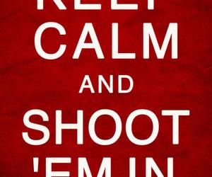 keep calm and zombie image