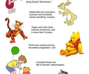 drugs, funny, and winnie the pooh image