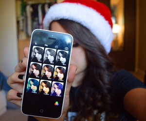 christmas, iphone, and quality image