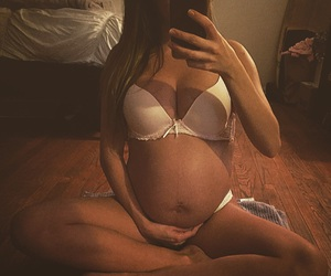 baby, pregnancy, and pregnant women image