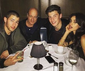 camila cabello, nick jonas, and shawn mendes image