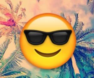emoji and summer image