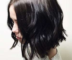 brunette, hair, and perfect hair image
