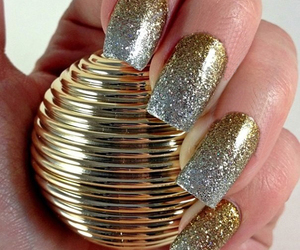 nails, gold, and silver image