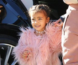 north west, kim kardashian, and pink image