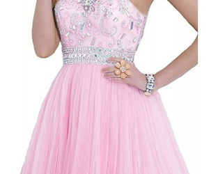 dress, lovely, and pink image