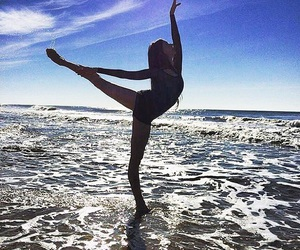 ballet, dance, and ocean image