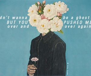 flowers, ghost, and Lyrics image