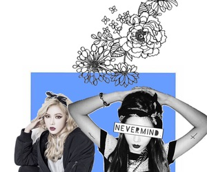 blue, floral, and kpop image