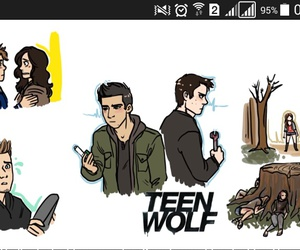 animation, layden, and teen wolf image