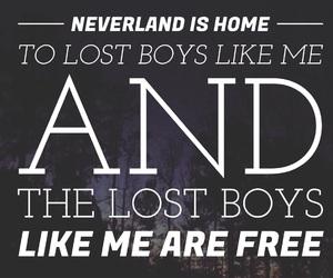 easel, lost boy, and Lyrics image