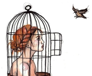bird, art, and freedom image