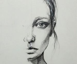 dibujo, draw, and eyes image