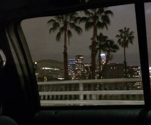 night, city, and aesthetic image