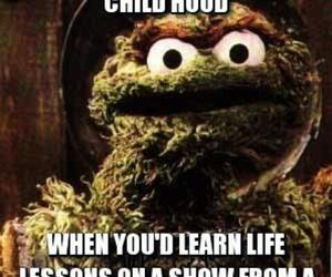 childhood and elmo image