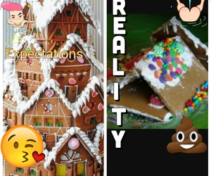 christmas, gingerbread, and wtf image