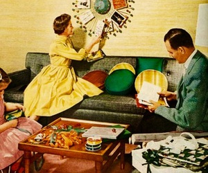 1960's, holiday, and mad men image