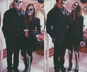 Halloween, couple, and girl image