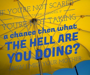 easel, how i met your mother, and motivation image