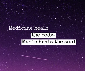medicine, music, and soul image