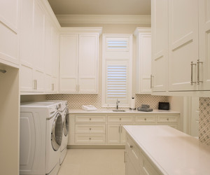 laundry room and trasitional image