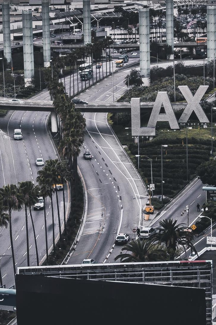 LAX, los angeles, and california image